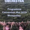 JFB organise la convention annuelle du Groupe ORCHESTRA - Montpellier - 27 et 28 Mai 2019