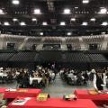 JFB anime les vœux de la Région Occitanie, à l'Aréna de Montpellier - 25/01/18