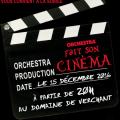 Soirée de Noël Orchestra - 15 décembre 2016 - Domaine de Verchant